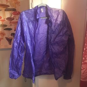 American Apparel Lavender Windbreaker!